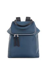 LOEWE Goya backpack in soft grained calfskin Indigo pdp_rd