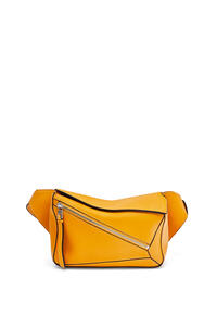 LOEWE Small Puzzle Bumbag in smooth calfskin Sunflower pdp_rd