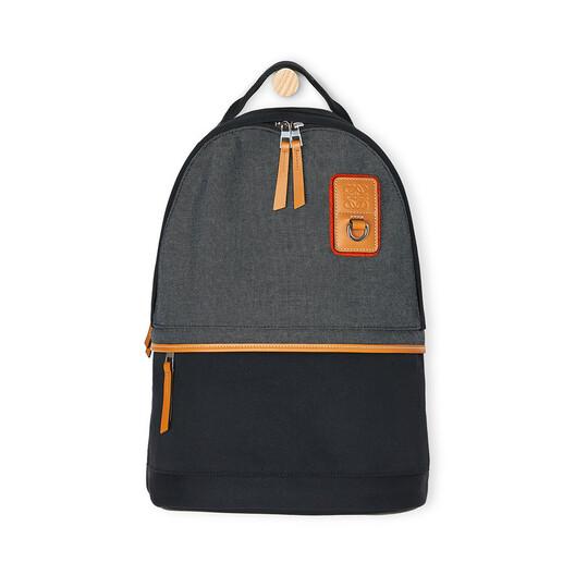 LOEWE Eye/Loewe/Nature Backpack Small Black front