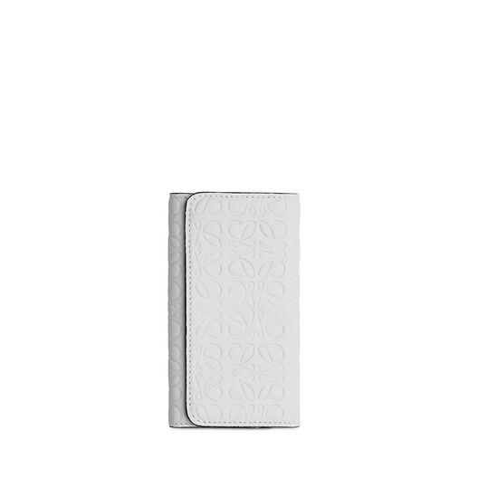 LOEWE 6 キー キーリング ホワイト all