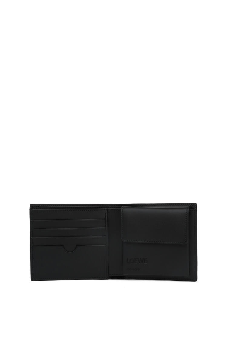 LOEWE Bifold coin wallet in calfskin Navy Blue pdp_rd