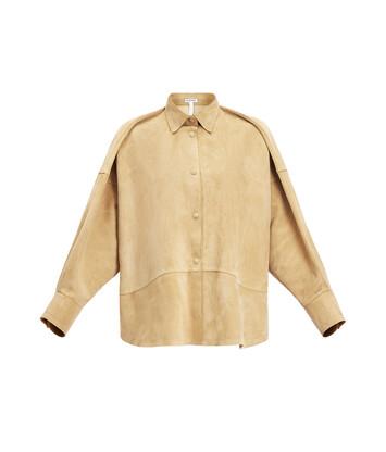 LOEWE Oversize Shirt 金色 front
