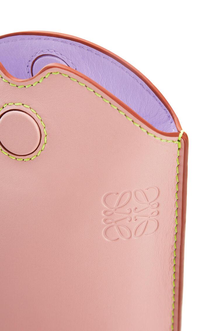 LOEWE Pocket Gate en piel de ternera suave Rosa Melocoton/Albaricoque Sua pdp_rd