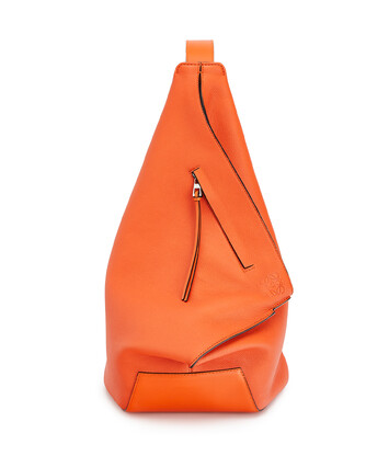 LOEWE Anton Small Backpack Orange front