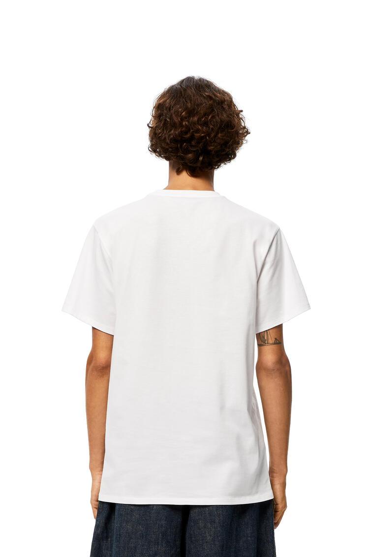 LOEWE LOEWE trim t-shirt in cotton White pdp_rd