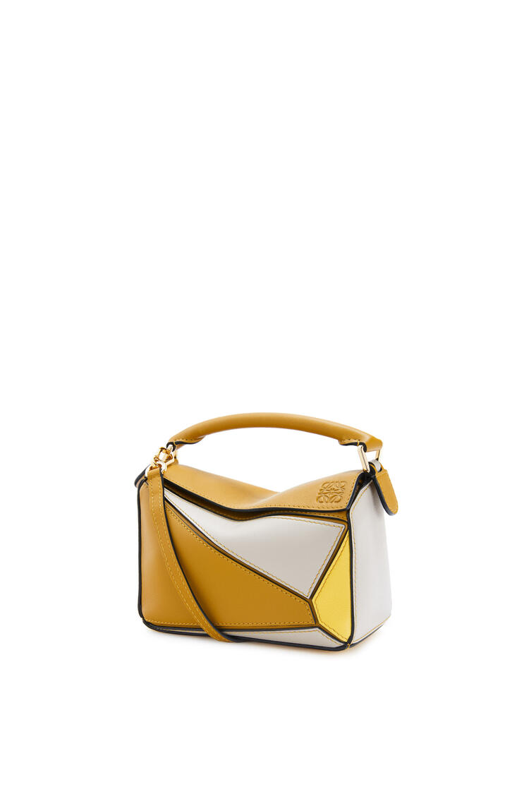 LOEWE Mini Puzzle bag in classic calfskin Ochre/Yellow pdp_rd