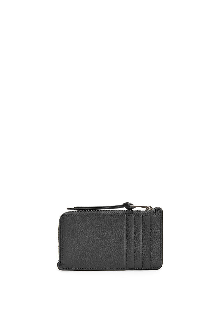 LOEWE Coin Cardholder In Soft Grained Calfskin 黑色 pdp_rd