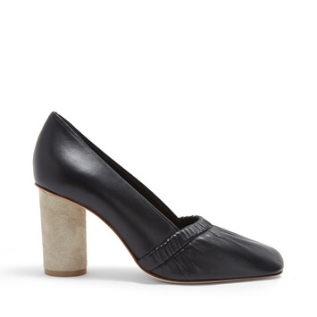 LOEWE Elasticated Pump 80 Black front