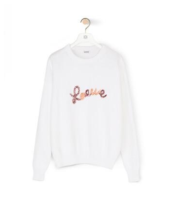 LOEWE Loewe Sweater White front