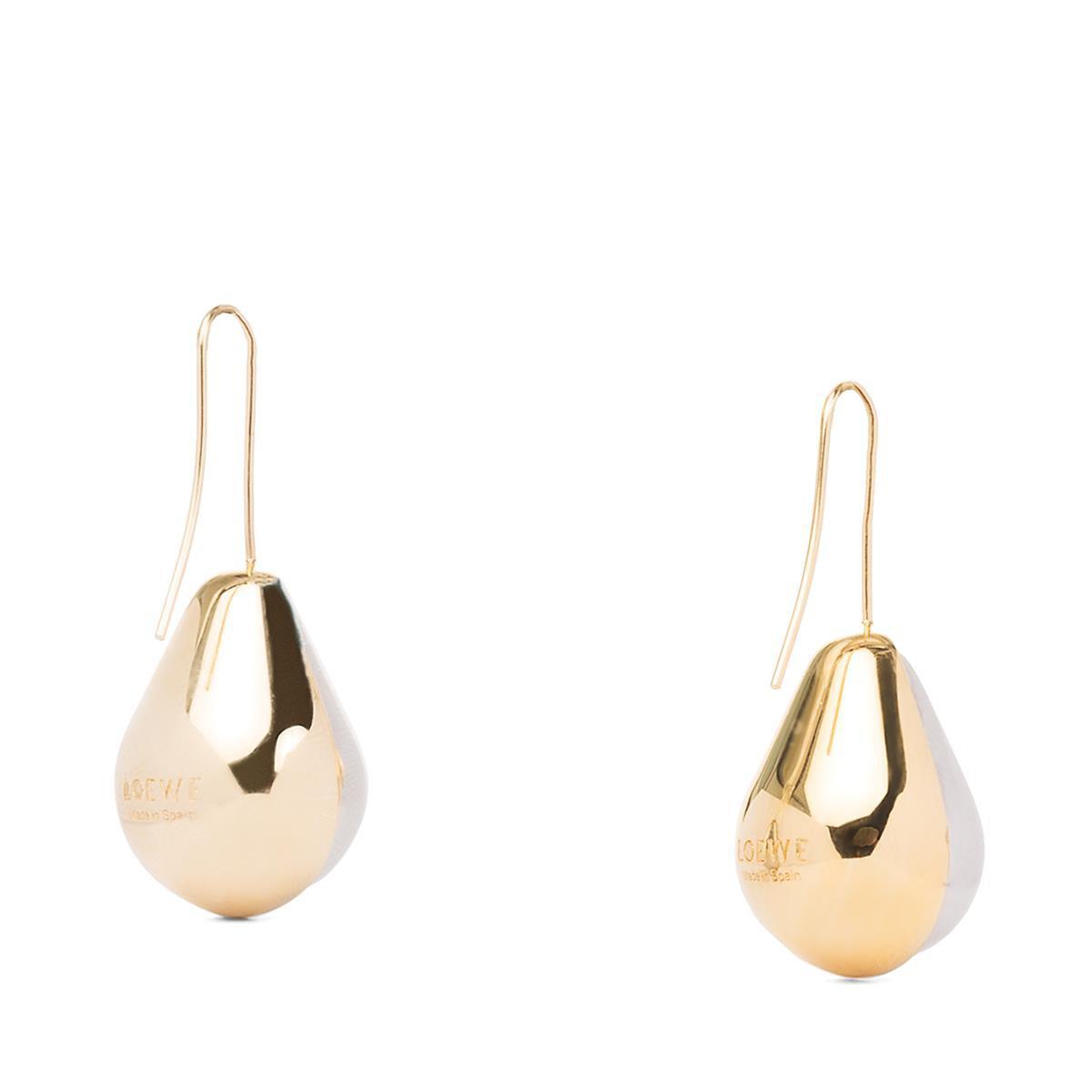 LOEWE Vermeer Earring Gold/Palladium front