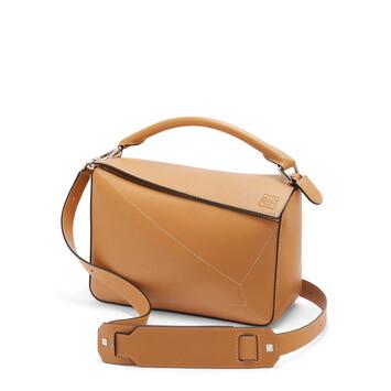 LOEWE Puzzle Soft Bag Warm Desert front