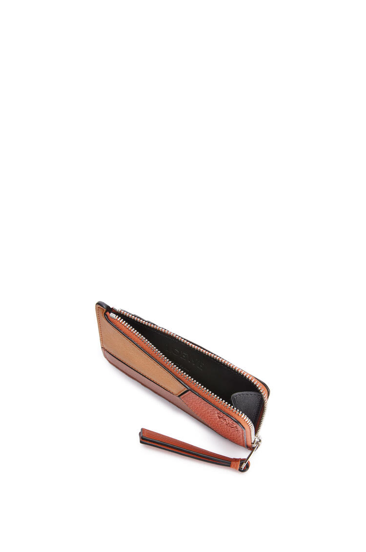 LOEWE Puzzle coin cardholder in classic calfskin Pumpkin/Rust pdp_rd