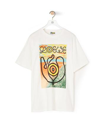 LOEWE T-Shirt Eln Blanco front