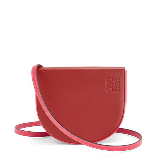 LOEWE Heel Bag Pomodoro/Poppy Pink front