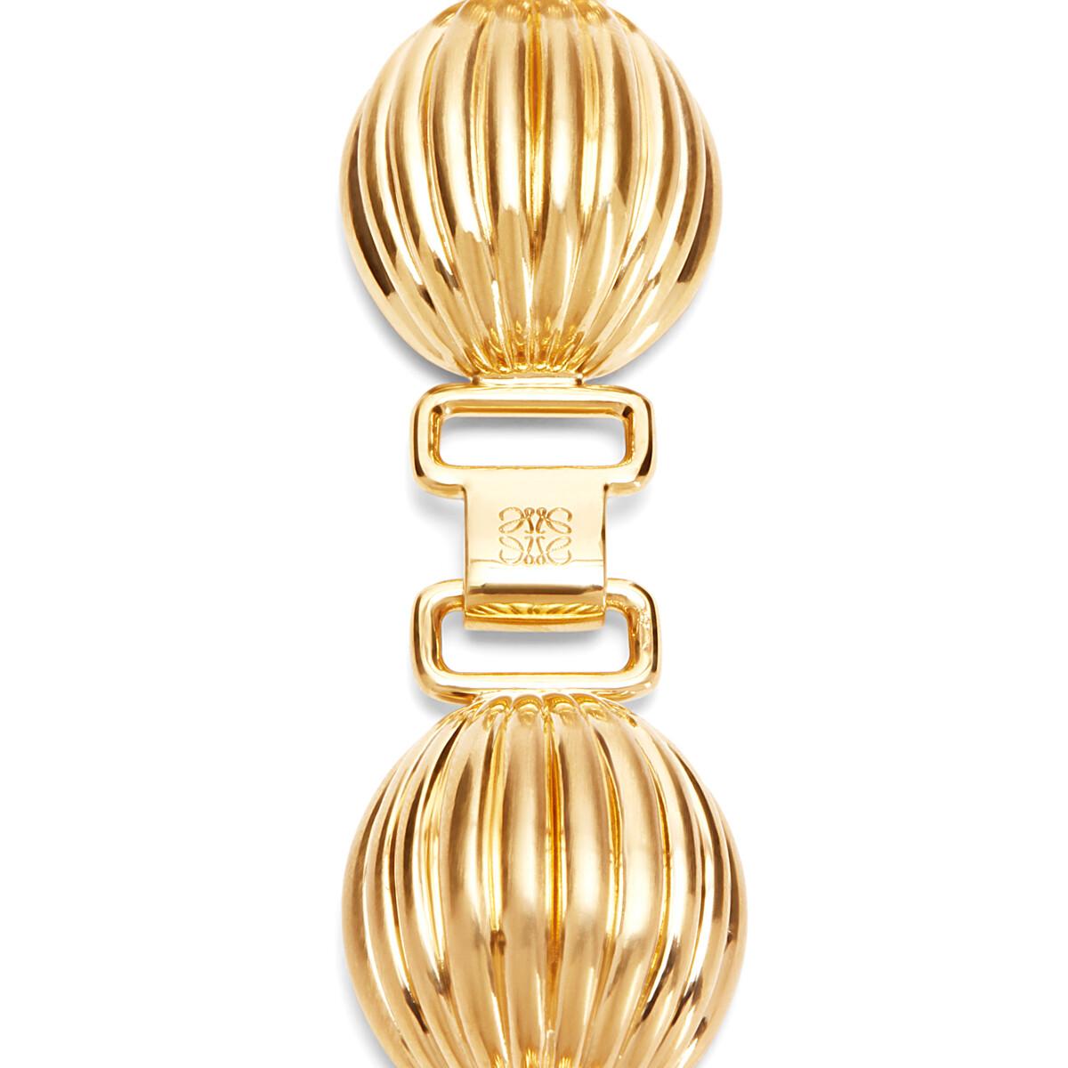 LOEWE Mini Nutshell Bracelet 金色 front