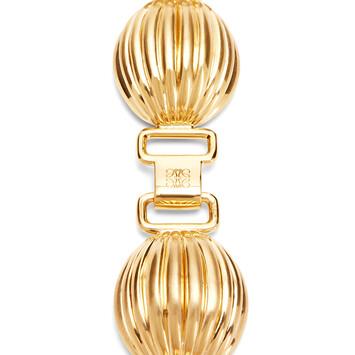 LOEWE Brazalete Mini Nutshell Oro front