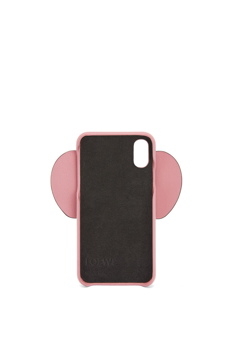 LOEWE Elephant cover for iPhone X/XS in classic calfskin Candy pdp_rd