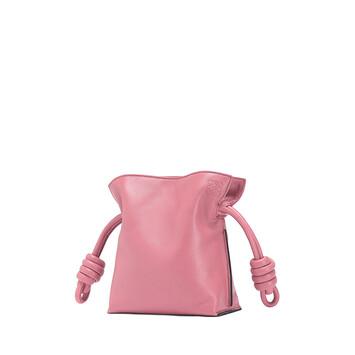 LOEWE Flamenco Knot Mini Bag Wild Rose front