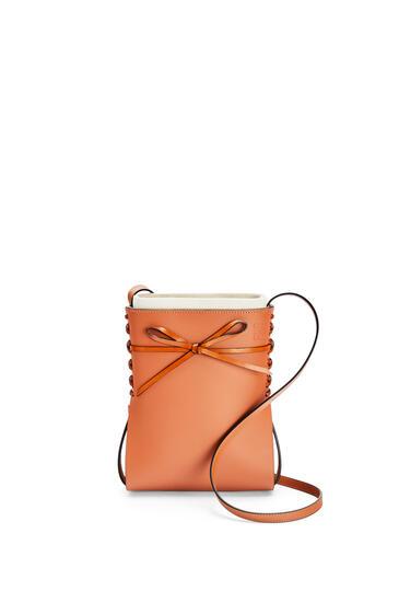 LOEWE 牛皮革 Ikebana 手袋 棕色 pdp_rd