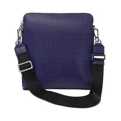 LOEWE Goya Crossbody Bag Navy Blue front