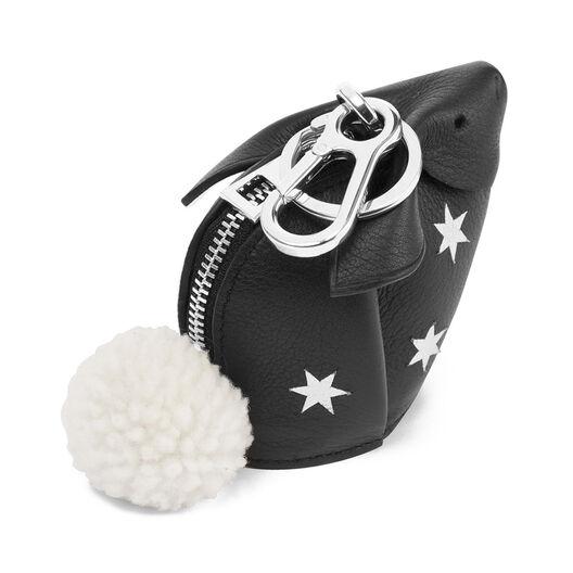 LOEWE Bunny Stars Charm Black/Silver all