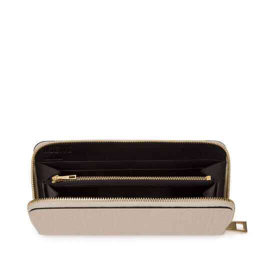 LOEWE Zip Around Wallet Ivory all
