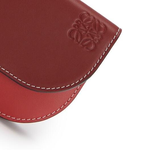 LOEWE Gate Continental Wallet Garnet/Pomodoro front
