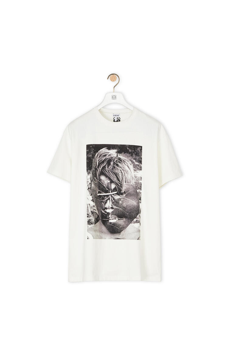 LOEWE Ken Heyman oversize t-shirt in cotton Ecru pdp_rd