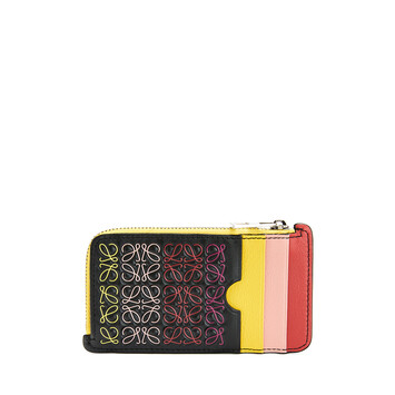 LOEWE Repeat Coin Cardholder Black/Multicolor front