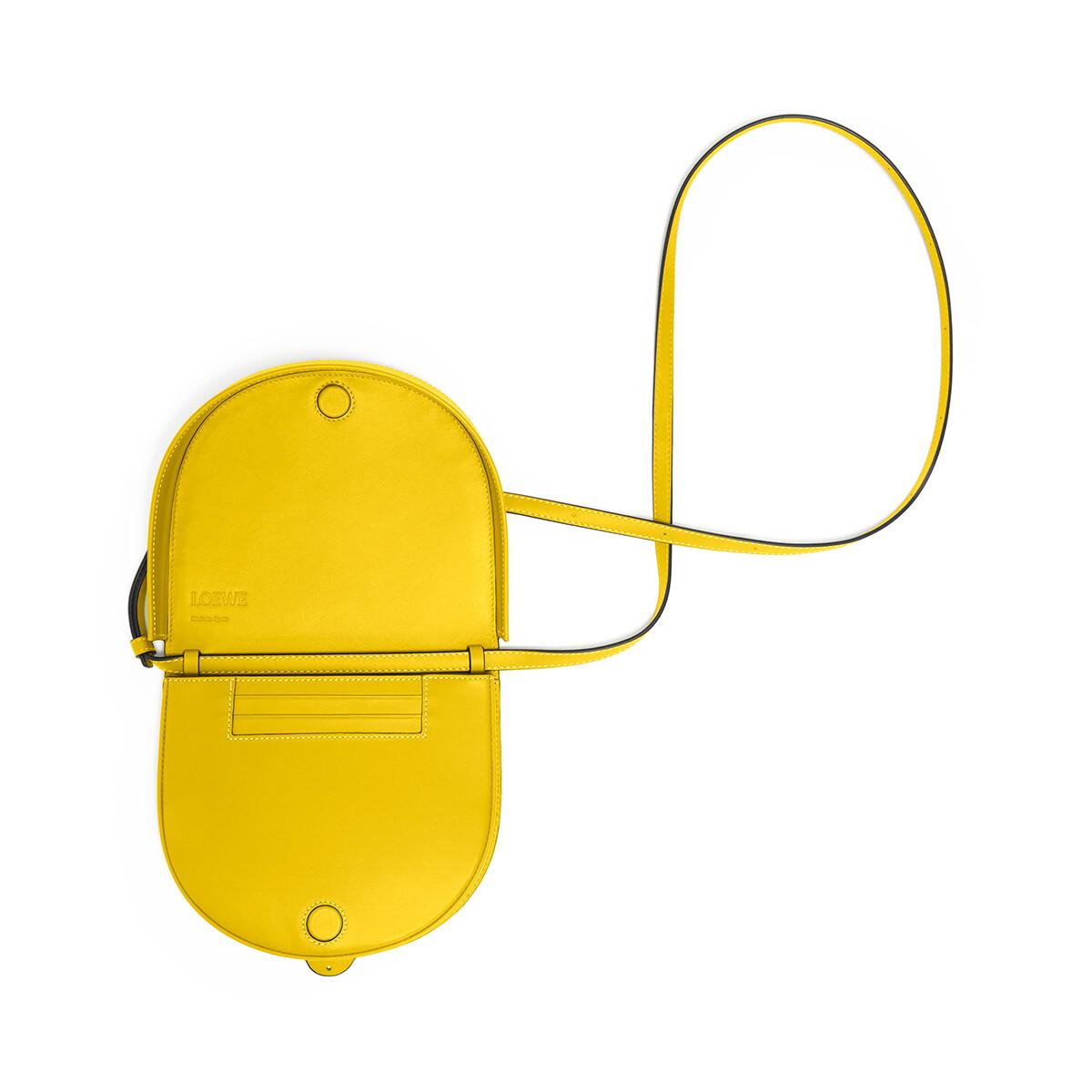 LOEWE Heel Bag Yellow front