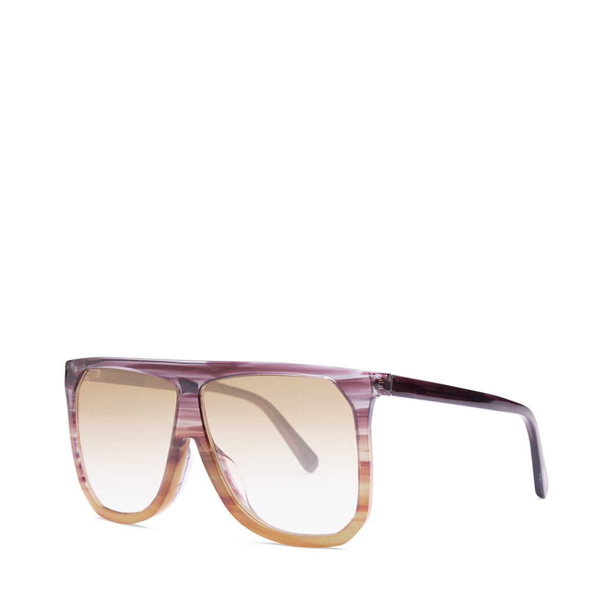 LOEWE Filipa Sunglasses Plum/Orange/Gradient Yelow front