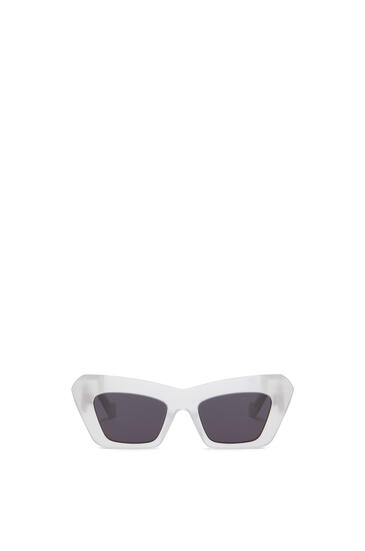 LOEWE ACETATE CATEYE SUNGLASSES Ice White pdp_rd