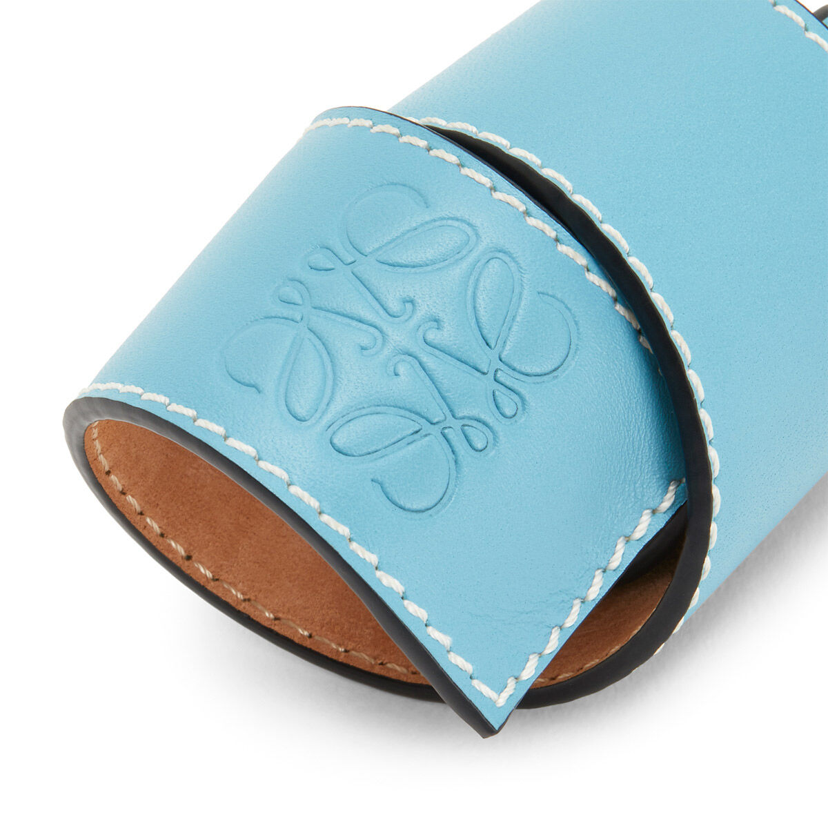 LOEWE Small Slap Bracelet Light Blue front