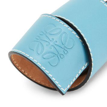 LOEWE Small Slap Bracelet ライトブルー front