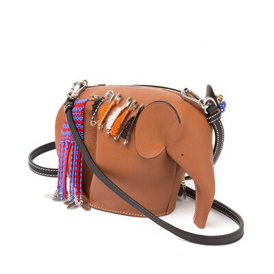 LOEWE Elephant Mini Bag K O M P タン front