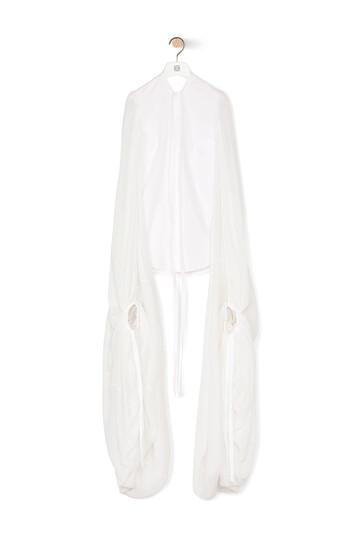 LOEWE Long Sleeve Shirt 白 front