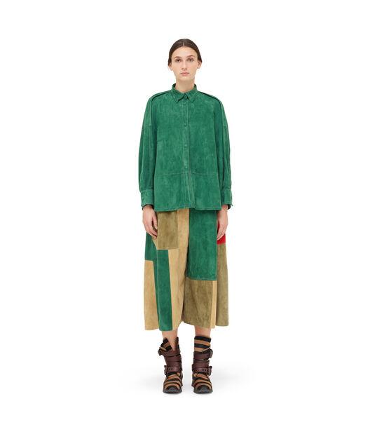 LOEWE Oversize Shirt Verde front