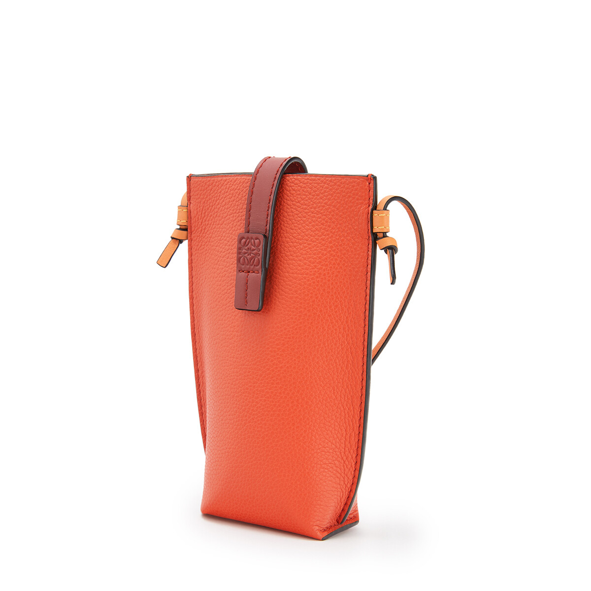 LOEWE 口袋 Coral/Soft Apricot front