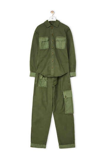 LOEWE Jumpsuit V.Kaki Oscuro/V.Kaki Claro front