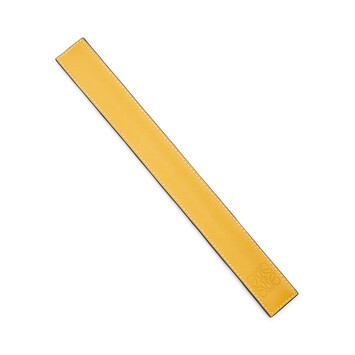 LOEWE Small Slap Bracelet Yellow front