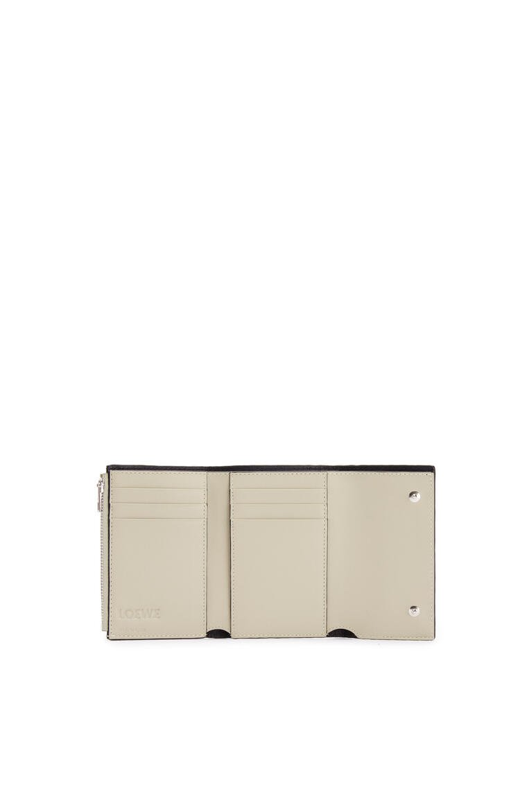 LOEWE Repeat small vertical wallet in calfskin Light Oat pdp_rd