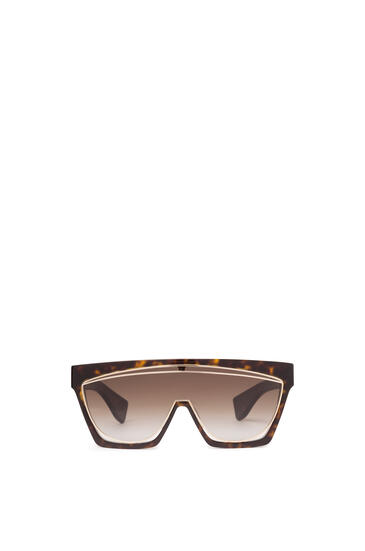 LOEWE MASQUE SUNGLASSES Dark Havana/Gradient Brown pdp_rd