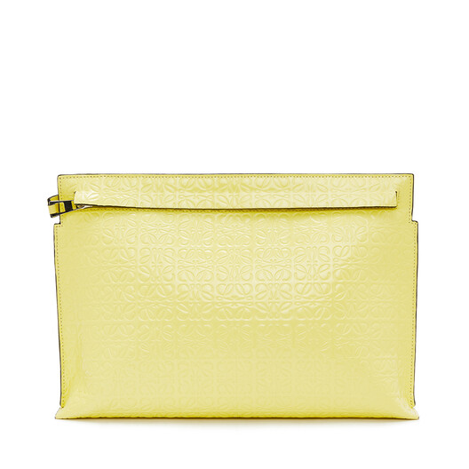 LOEWE T Pouch Repeat イエロー front
