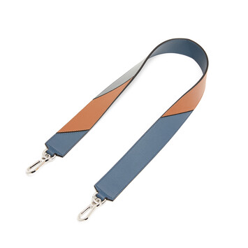LOEWE Degrade Strap Steel Blue/Tan front