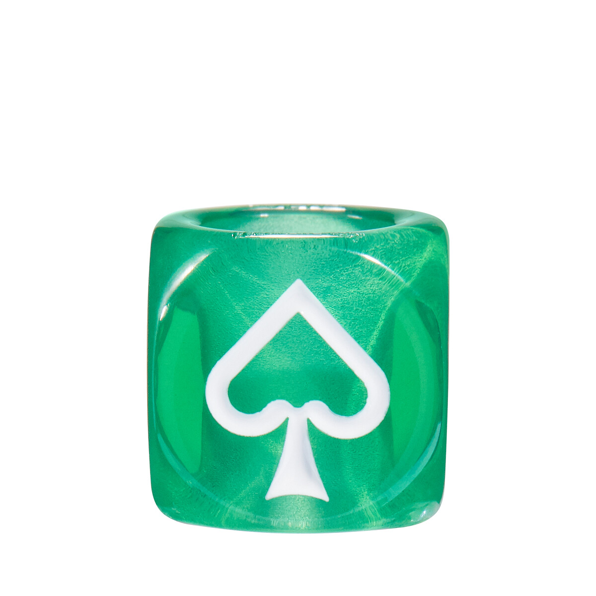 LOEWE Playing Cards Small Dice 绿色 front