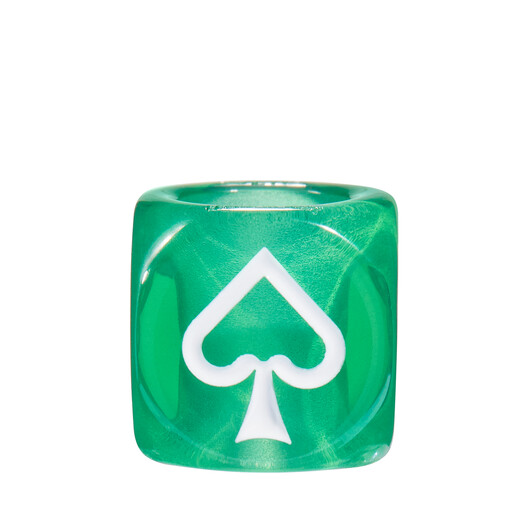 LOEWE Playing Cards Small Dice グリーン front