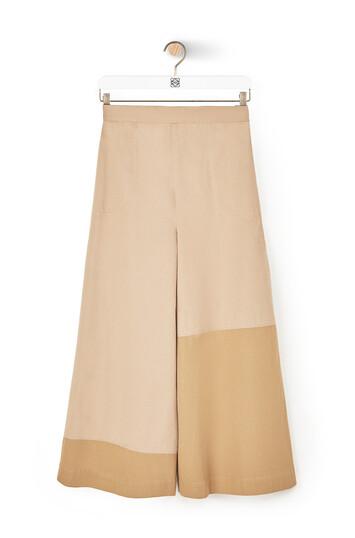 LOEWE Culotte Trousers Beige/Camel front
