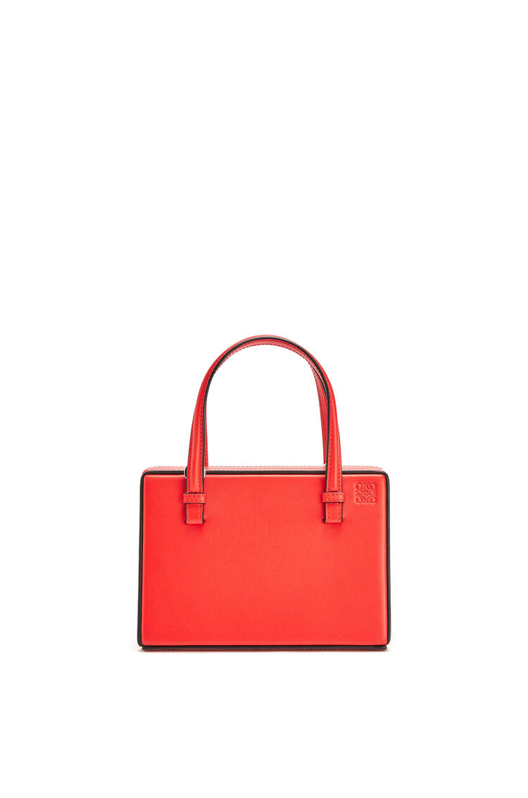 LOEWE Small Madrid Postal Bag In Natural Calfskin Red pdp_rd