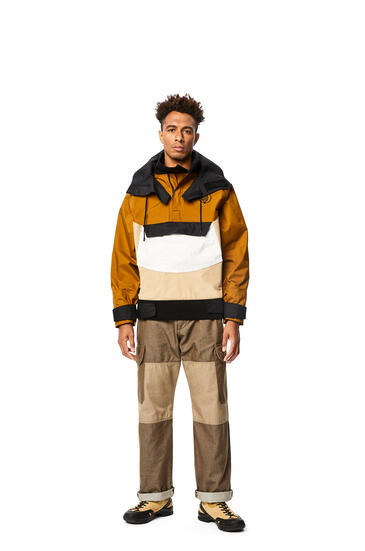 LOEWE Pullover parka in nylon Camel/Beige pdp_rd