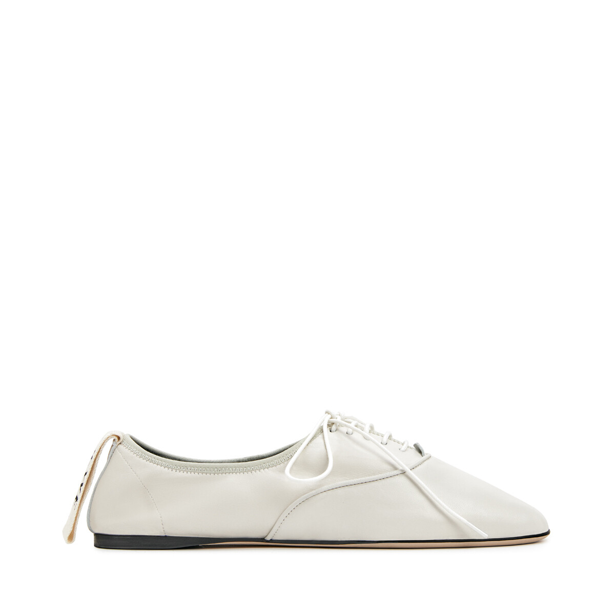 LOEWE Soft Derby Soft White front